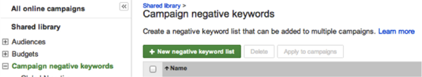 how negative keywords work 1